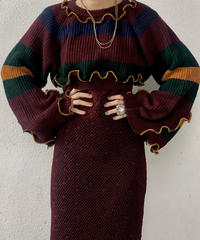 【RE;CIRCLE】 Mellow Shaker Knit Sweater ① /210120-002