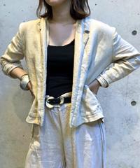 【Used】L/S Linen Jaket  / 200812-011