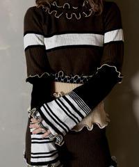 【RE;CIRCLE】L/S Mellow Rib Knit Tops ④