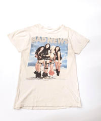 [Used] Band Tee 4 (Bad news/WHT)