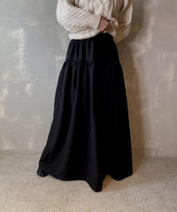 【USED】 Poly Blended Long Skirt / 201125-018