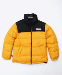 [FIRST DOWN] Riversible Down jacket (Yellow)