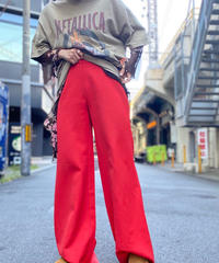【Used】Flared Wide Pants 2