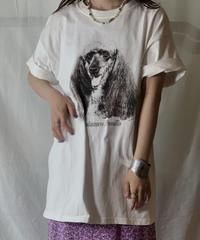 【USED】S/S T-shirt DOG⑦/210604-017