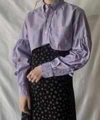 【RE;CIRCLE】  Gather Sleeve Short Shirt①/210303-035