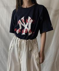 【USED】S/S T-shirt NEW YORK YANKEES ③ /210602-017