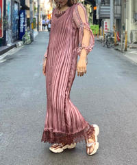 【Used】No sleeve Long One-piece