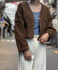 【Used】Denim Short Jacket /200901-057