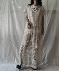 【RE;CIRCLE】 RE Crochet N/S One-piece①/210611-023