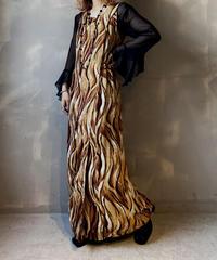 【USED】N/S Pattern Dress / 201104-024