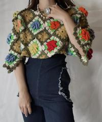 【RE;CIRCLE】 RE Granny Knit Top④/211014-004