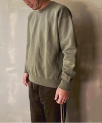 【THE UNION】 The Fabric Rib St. Crew Sweat / TF00353