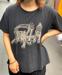 【Used】DEATH Rock  T-Shirt BLK