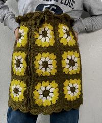 【RE;CIRCLE】 Granny Knit Mini Skirt ① /210125-002