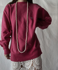 【USED】   90's USA Champion Reverse Weave Sweat One-point④/211007-036