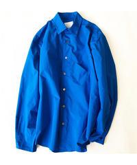 [A.D.A.N] E/W POC SHIRTS(Royal Blue)