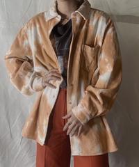 【RE;CIRCLE】Tie Dye Dyeing Corduroy shirt② /210226-006