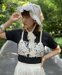 【RE:CIRCLE】Vintage Crochet Lace bucket hat