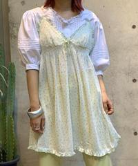 【Used】Slip  Camisole Dot /200818-015