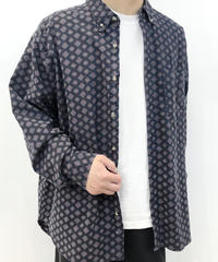 【Used】Pattern Cotton Shirts 4 / Sale