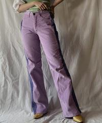 【RE;CIRCLE】 Remake Corduroy Side Line Pants①/210317-002