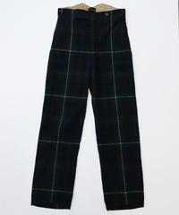 [USED] Wool Check Pants Vintage (AWV14)