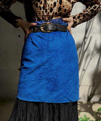【Used】Suede Mini skirt/ 200928-007