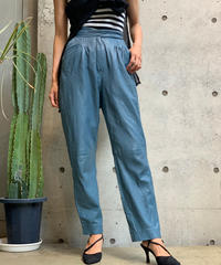 【Used】Color Leather  Pants / 200901-038