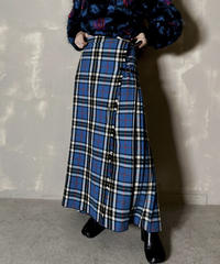 【USED】 Kilt Long Skirt / 201204-021