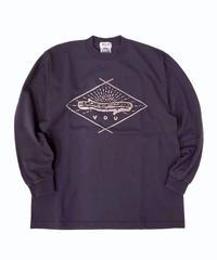 VOU/棒 × 森 Long sleeve T-shirt 2 (Gray)