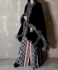 【USED】 Wool Poncho / 201120-026