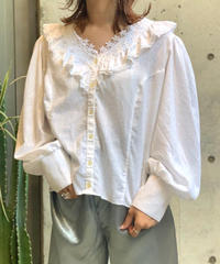 【Used】Color Lace Blouse