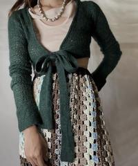 【USED】  Crochet Knit L/S Top ①/211014-033