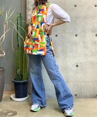 【Used】Cotton Apron Vest / 200807-016