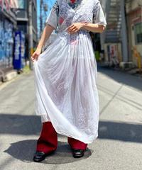 【Used】Organdy See-through Dress