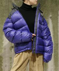 [Used] THE NORTH FACE  Nuptse Jacket (Gray/Purple)(NF1)
