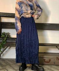 【Used】Crinkle Long skirt/201011-038