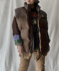 【USED】The North Face Down Vest②/210203-003