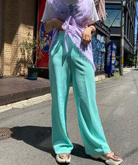 【Used】Poly Wide Easy Pants  /200531-053