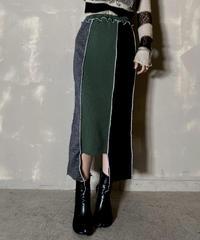 【RE;CIRCLE】 Mellow Rib Knit  Long Skirt ①