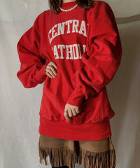 【USED】 90's USA Champion Reverse Weave Sweat CENTRAL CATHORIC / 210127-025