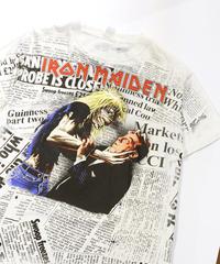 【Used】Heavy Metal Rock T-shirt  IRON MAIDEN (Heavy Metal Rock12)