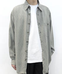 【Used】Pattern Cotton Shirts 3 / Sale