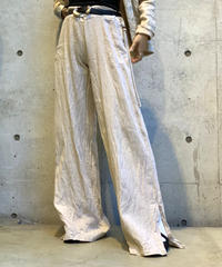 【Used】Linen Pants Beige/ 200812-012
