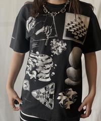 【USED】 S/S T-shirt M.C.Escher ①/210617-017