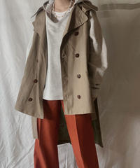 【RE;CIRCLE】 Remake Trench Vest /210203-043