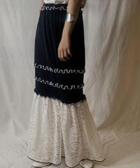 【RE;CIRCLE】 RE Spandex Mellow Long Skirt①/210521-003