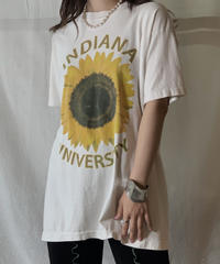 【USED】S/S T-shirt Flower④/210604-030