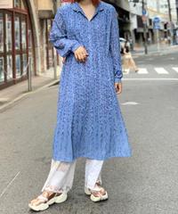 【Used Flower pattern  One Piece / 200828-004