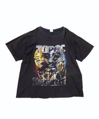 [Used] Band Tee 9 (TUPAC/BLK)